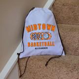 Classic Basketball Drawstring Bag