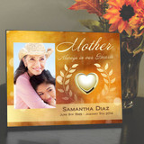 Mother's Heart of Gold Picture Frame