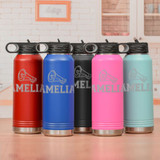 Cheerleading Water Bottle Available in 5 Colors