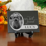 Our Best Friend Pet Memorial Plaque