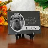 Our Best Friend Pet Memorial Plaque