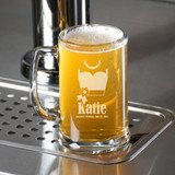 Bridesmaid Dress Personalized Beer Mug