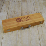 #1 Dad Personalized Barbeque Set