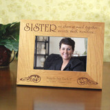 Sisters Share so Much Memorial Picture Frame