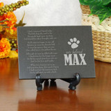 Beloved Pet Memorial Plaque