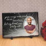 My Dear Brother Personalized Memorial Plaque