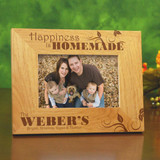 Personalized picture frame for family