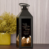 Your Memories Burn Bright Memorial Lantern