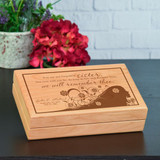Sister Memory Box Personalized with Name