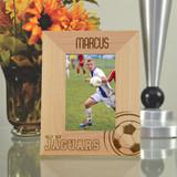Varsity Personalized Soccer Frame