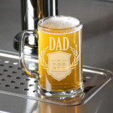 Established Dad Personalized Beer Mug
