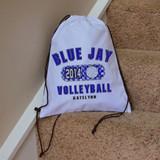 Classic Volleyball Drawstring Bag