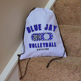 Classic Volleyball Drawstring Bag