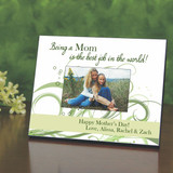 Being Mom Personalized Picture Frame