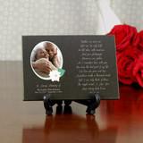 Your Photograph Memorial Granite Plaque