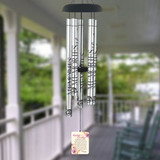 Mother's Goodbye Watercolor Wind Chime