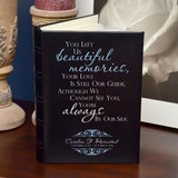 Beautiful Memories Personalized Photo Album