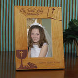 My First Communion Personalized Frame