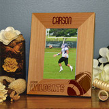 Varsity Personalized Football Frame