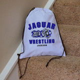 Classic Wrestling Drawstring Bag