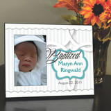 Baptism Day Personalized Picture Frame
