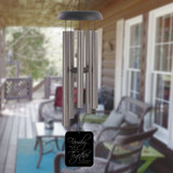 Together in Family Personalized Pewter Wind Chime