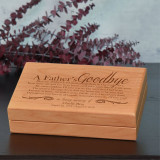 A Father's Goodbye Memory Box