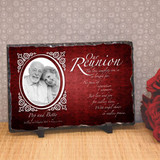 Our Reunion Personalized Memorial Plaque