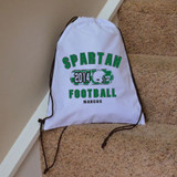 Classic Football Drawstring Bag