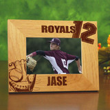 Stadium Personalized Baseball Frame