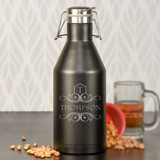 The Beer Enthusiast Personalized Growler