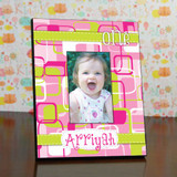 Birthday Ribbon Frame For a Girl