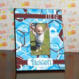 Birthday Ribbon Frame For a Boy