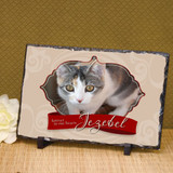 Our Pet Forever Large Memorial Photo Plaque