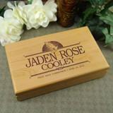 Communion Rosary Personalized Keepsake Box