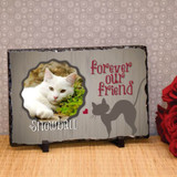 Forever our Cat Large Memorial Photo Plaque