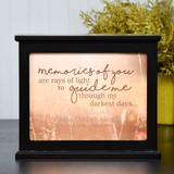Your Memories Guide Me Light Box