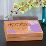 Memories of you, Mother Keepsake Box Personalized with Name and Dates