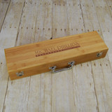 Personalized Bamboo Grill Set