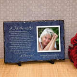 Mothers Love Personalized Memorial Plaque