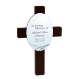 Light from Above Personalized Sympathy Cross