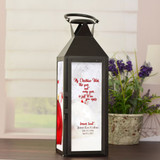 Christmas Wish Personalized Memorial Lantern