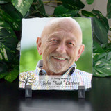Remembering Him Personalized Photo Plaque