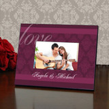 Couples Elegant Personalized Picture Frame
