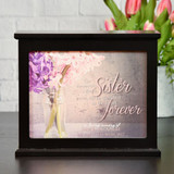 Cherished Sister Memorial Light Box