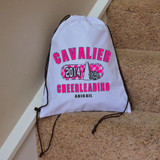Classic Cheerleader Drawstring Bag