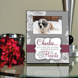 The Pet In Our Lives Personalized Picture Frame