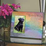 The Rainbow Bridge Pet Memorial Frame