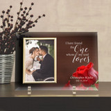 The One My Soul Loves Personalized Glass Frame