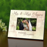 Ever After Personalized Wedding Frame